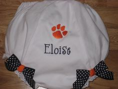 Tiger Paw Diaper Cover by alphabetsoupboutique on Etsy, $14.00