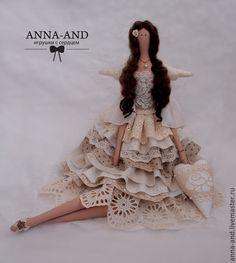 Tilda muñecas hechas a mano.  Masters Feria - hadas hecho a mano Amor de Marfil (basado en).  Hecho a mano.