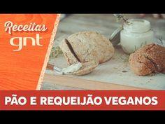 Receita de pães de quinoa e amêndoas com requeijão de tofu | Alana Rox