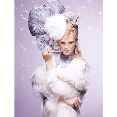 Hanna Wahmer by Satoshi Saikusa for Vogue Gioiello Winter 2011 ❤ liked on Polyvore
