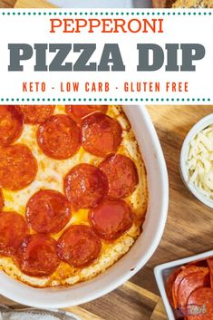 This easy low carb pizza recipe from I Can't Believe It's Low Carb is just what you've been looking for if you've been craving pizza while on the keto diet! You can have all the great flavor of pizza with none of the carbs! Give this easy keto pizza recipe a try today! Best Low Carb Recipes, Keto Recipes, Favorite Recipes, Low Carb Appetizers, Appetizer Recipes, Pepperoni Pizza Dip, Pizza Dip Recipes, Low Carb Pizza, Recipe Details