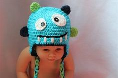 Crochet For Kids, Knit Crochet, Crochet Hats, Tasmanian Devil, Cute Monsters, Baby Costumes, Cool Logo, Newborn Photos, Baby Shower Gifts