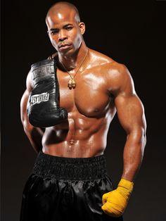 Ngoli Okafor - boxer/ model...omg look at that body