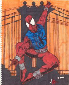 Scarlet Spider Ben Reilly by JesseAllshouse@deviantART