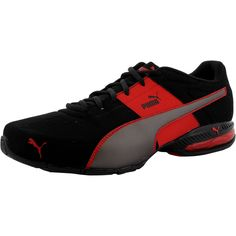 96badf8a2abf4c Puma - Men s Cell Surin 2 Nubuck Trainning Sneaker - Black Silver Red