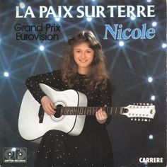 """Nicole - """"La paix sur terre"""", french version of """"Ein bisschen Frieden"""", the winning song of the Eurovision Song Contest 1982 from Germany"""