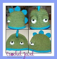 e6380c2a899 Amy s Crochet Creative Creations  Crochet Dinosaur hat (Newborn-Adult  Sizes) Crochet Dinosaur