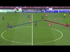 The Busquets' tactical role in attacking