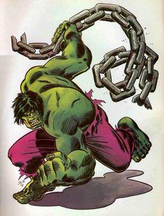 #Hulk #Fan #Art. (Hulk Unchained) By: John Romita Jr. (THE * 5 * STÅR * ÅWARD * OF: * AW YEAH, IT'S MAJOR ÅWESOMENESS!!!™)[THANK Ü 4 PINNING!!!<·><]<©>ÅÅÅ+(OB4E)   https://s-media-cache-ak0.pinimg.com/564x/45/02/b8/4502b8151f2f7ca9b3f1f07fddffd158.jpg