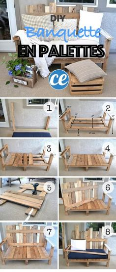 8 Amazing DIY Projects to Repurpose Pallets You can find Pallet sofa and more on our Amazing DIY Projects to Repurpose Pallets Diy Sofa, Diy Pallet Sofa, Pallet Patio, Diy Pallet Projects, Pallet Wood, Outdoor Pallet, Garden Pallet, Pallet Benches, Pallet House