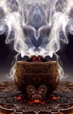 Corps Astral, Burning Incense, Smoke Art, Incense Holder, Love Spells, Pentacle, Witchcraft, Smudging, Mists