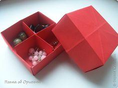 Master class, crafts, product Origami: Box masu extraordinary!  Paper.  Photo 42