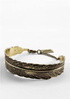 MintFeather Cuff Bracelet