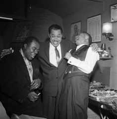 Louis Armstrong, Cab Calloway and Billy Daniels