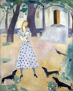 """Einar Jolin: """"The Girl with the Dogs""""."""