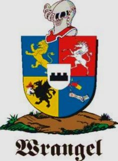 Wrangel Family Crest / Wrangel Coat of Arms [Personalized Gifts – Your own Family Crest order now ]