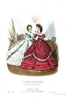 La Mode illustrée: journal de la famille - Jan 17 1864