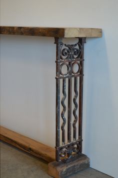 Victorian Reclaimed Timber And Cast Iron Are Used To Make Our Unique