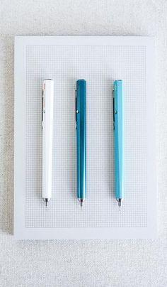 Needlepoint Click Pen, Paper/Office, JPT*, SPARTAN SHOP