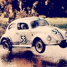 Herbie! 1963 Volkswagen Beetle. Repin if you love this Love Bug!