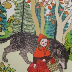 Le Petit Chaperon Rouge | Ilya Green , @Tracy Stewart Stewart Stewart Rose Torres check out the board I'm following called LesMountaines. You'll love the variety.