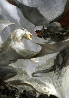 Confraria de Arton: Dragão da Semana: Luz e sombra