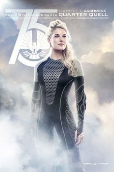 "Cashmere, District 1 | ""Hunger Games: Catching Fire"" Releases Quarter Quell Movie Posters"