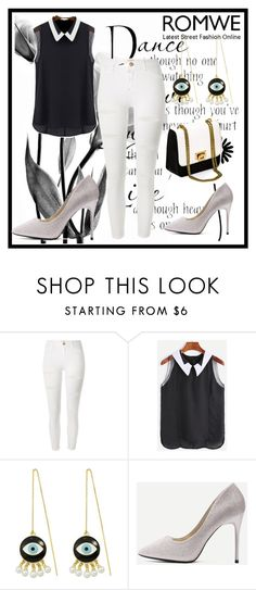 """Romwe 8"" by dinka1-749 ❤ liked on Polyvore featuring WALL and River Island"