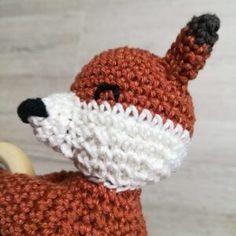 Fuchs Seitenansicht Crochet Hats, Beanie, Patterns, Crochet Fox, Threading, Crafting, Knitting Hats, Beanies, Beret
