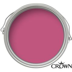 Crown Shocking Pink - Matt Emulsion Paint - 2.5L at Homebase -- Be inspired and make your house a home. Buy now.