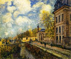 Alfred Sisley (French: 1839 – 1899), The Factory at Sevres, 1879.