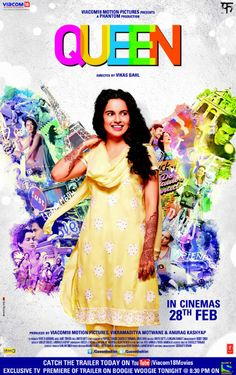 # Queen ~ Absolutely Fun, Kanagna is all the way! A feel good and refreshing bollywood movie after a long time!