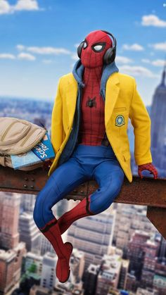 Spiderman - Marvel Wallpapers HD For iPhone/Android Marvel Comics, Films Marvel, Marvel Heroes, Marvel Characters, Marvel Cinematic, Marvel Dc, Captain Marvel, Amazing Spiderman, Spiderman Art