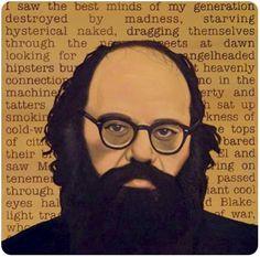 My favorite Beat writer - Allen Ginsberg Jack Kerouac, Allen Ginsberg Howl, Bebop, Volunteers Around The World, Irwin Allen, Beat Generation, Beatitudes, Writers And Poets, Beatnik