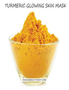 glowing skin with turmeric