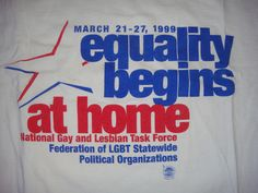 I was New York State Coordinator of Equality Begins at Home as my 2nd year MSW student internship. My first job in the movement. Special thanks to Paula Ettelbrick for hiring me!