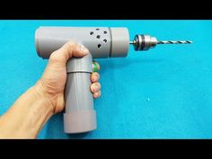 How to Make a High Speed Drill Machine Using 775 Dc Motor and PVC Pipe - YouTube