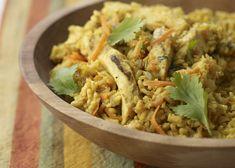 Chicken Curry Casserole #veggies #grains #protein #MyPlate #WhatsCooking