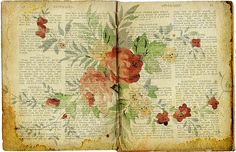 would be amazing as framed artwork ~ use old books and decoupage, stamp, or paint them, then stain the edges to give them a vintage look