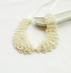 Ivory Pearl Peter Pan Collar Necklace