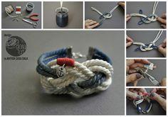 DIY: sailor bracelet
