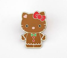 Hello Kitty Collector's Pin: Gingerbread