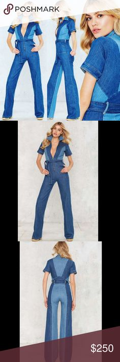 d98f7e7c5fe7 Stoned Immaculate Denim Jumpsuit NWOT The Blue Jean Baby Jumpsuit by Stoned  Immaculate comes in blue