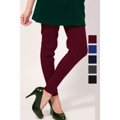 Maroon Color Thick Leggings Online http://www.andaazfashion.co.uk/womens/legging-s-salwar/