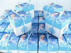 Convite Caixinha Frozen
