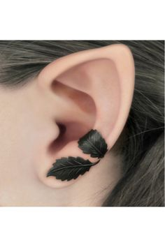 "Lord of the Ring inspired ""Leaf Earcuffs"" 