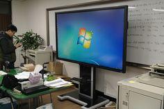안성 케이투정보 한경대학교 산학협력관에 설치한 LED스마트보드 전자칠판입니다. ^^ http://smart-touch.biz/shop/main/index.php