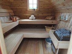 56 Best Gartensauna Images On Pinterest Saunas Steam Room And