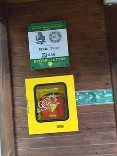 Rubato il defibrillatore operativo dentro la Riserva dannunziana donato dallAsd Renato DAmario