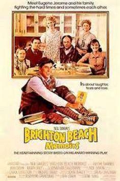 Brighton Beach Memoirs. Probably my favorite Neil Simon film.